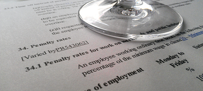 What are penalty rates?