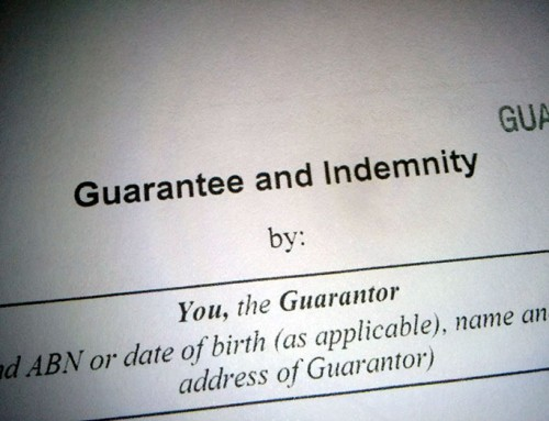 Personal guarantees – banks can pick and choose