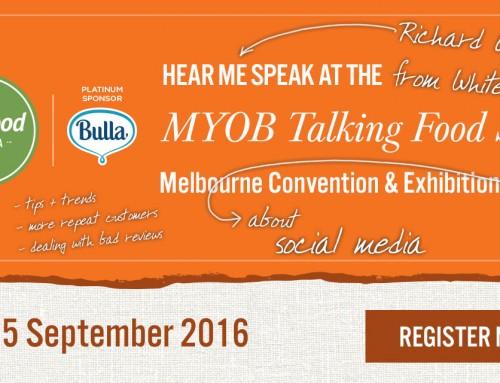 Whites Legal at Fine Food Australia's MYOB Talking Food Stage