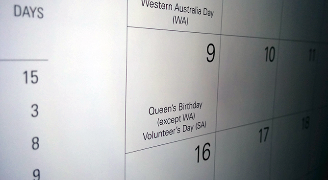 Public holiday penalty rates