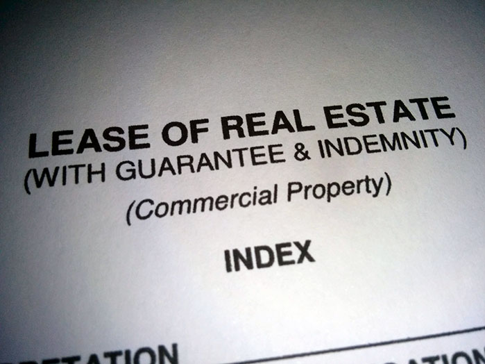 Personal guarantees in leases
